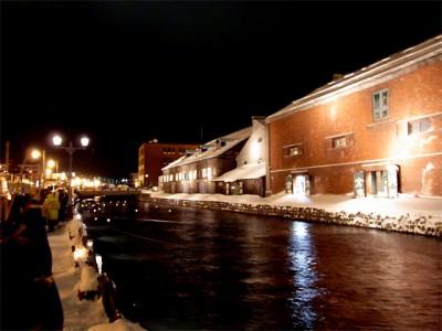 小樽雪あかりの路での画像