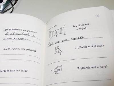 絵で見るスペイン語のページ画像