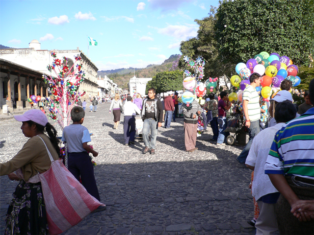 antigua parque central