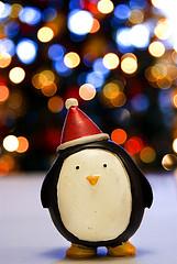 ペンギンの置物の画像