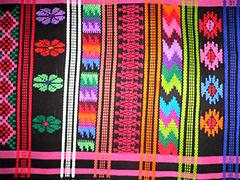 グアテマラで織ったもの