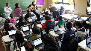 Google Apps Education Editionを導入したクラスの様子