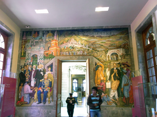 チャプルテペック城に描かれていた絵