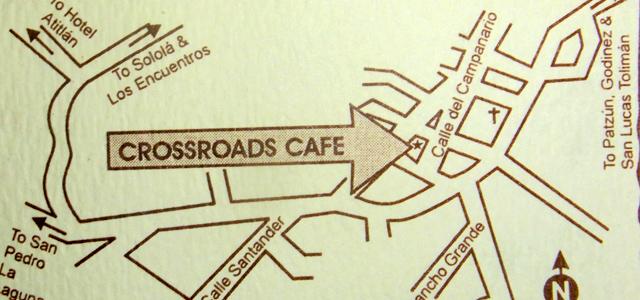 CrossRoadsCafeのマップ