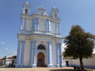 サンクリストバルデラスカサスの教会