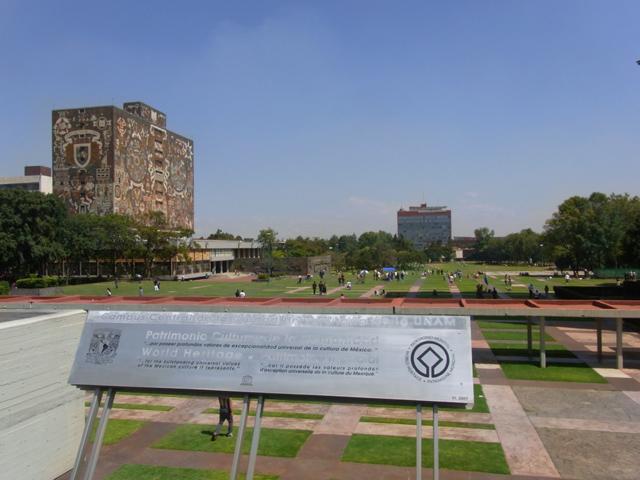メキシコ国立自治大学のメインキャンパス