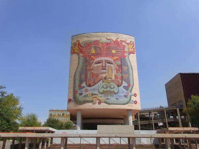 メキシコ国立自治大学の壁画