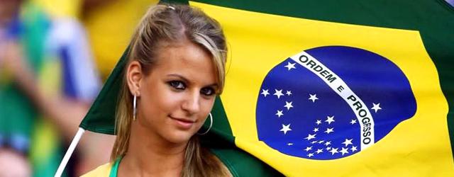 ブラジル人の女の子