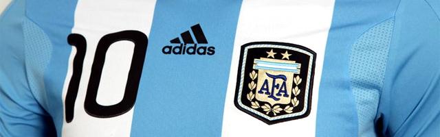アルゼンチン代表のユニフォーム