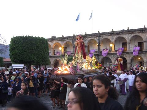 primera procesionの模様