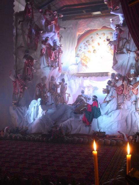 サンタ・アナ教会のベラシオン