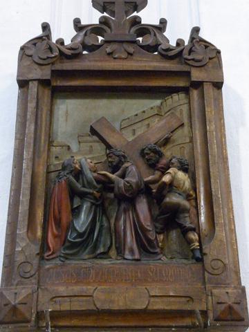 Cuarta Estación: Jesús encuentra a su santísima madre María.
