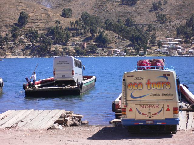 バスの舟渡し
