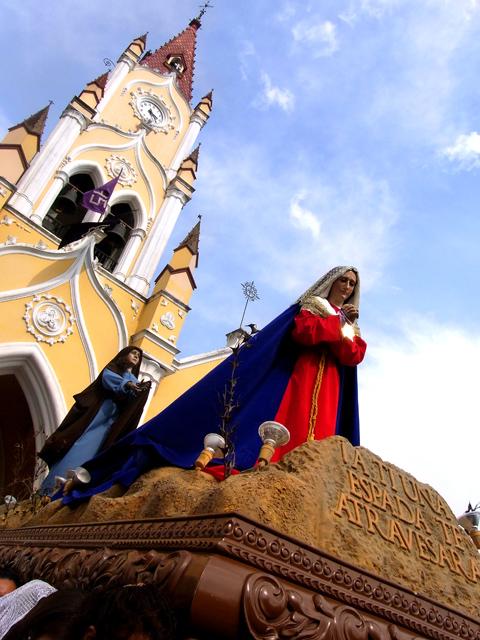 サンフェリペ教会のプロセシオン(マリア)
