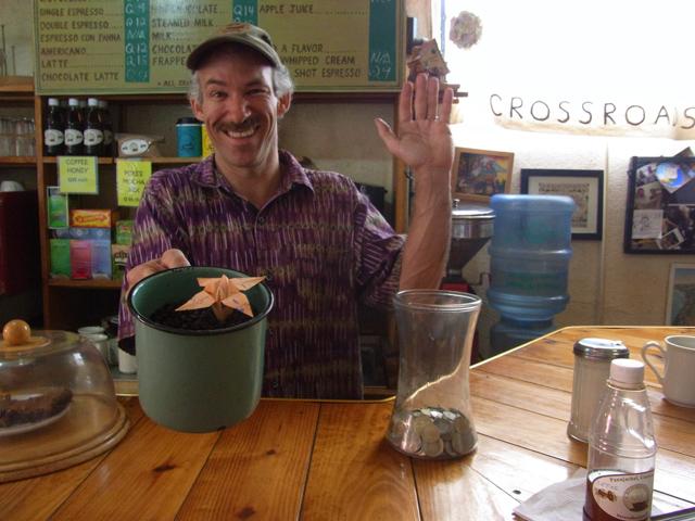 クロスロードカフェのマイク