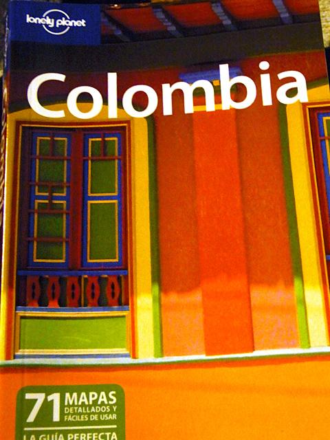 コロンビアのロンリープラネット表紙
