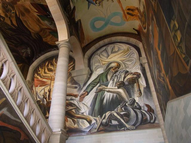 alhondiga de granaditasの壁画