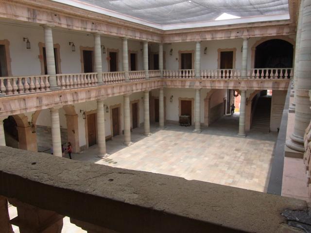alhondiga de granaditasの中の景色