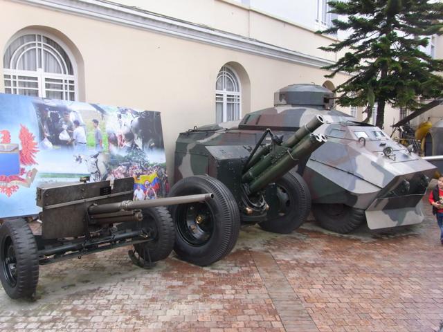 軍事博物館に展示されていたもの