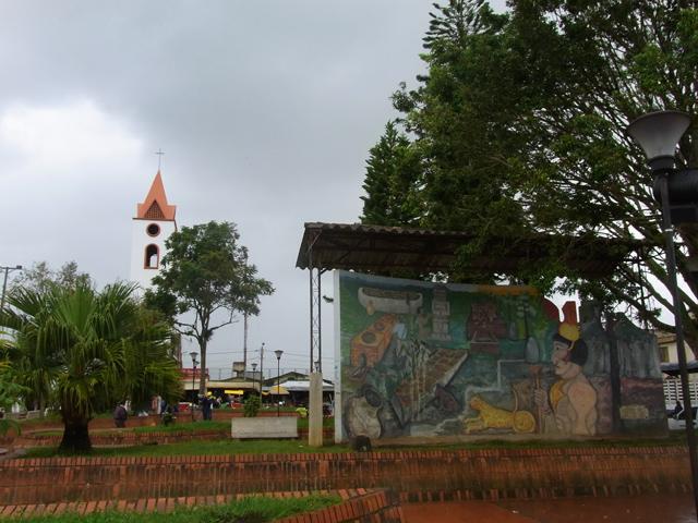 サン・アグスティンの近くの町