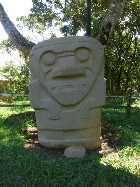 ゆるキャラの石像