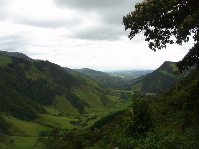 ココラ渓谷の景色