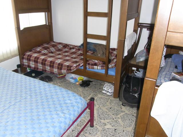 オスタル・メデジンのドミトリー室
