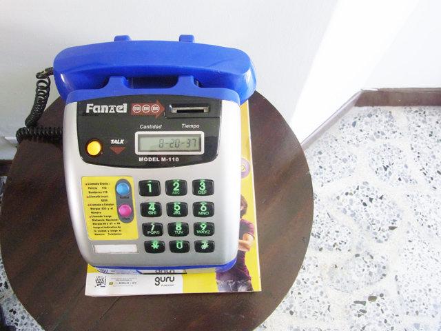 オスタル・メデジンにある電話機