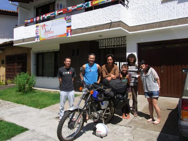 オスタル・メデジンの日本人宿泊者たち