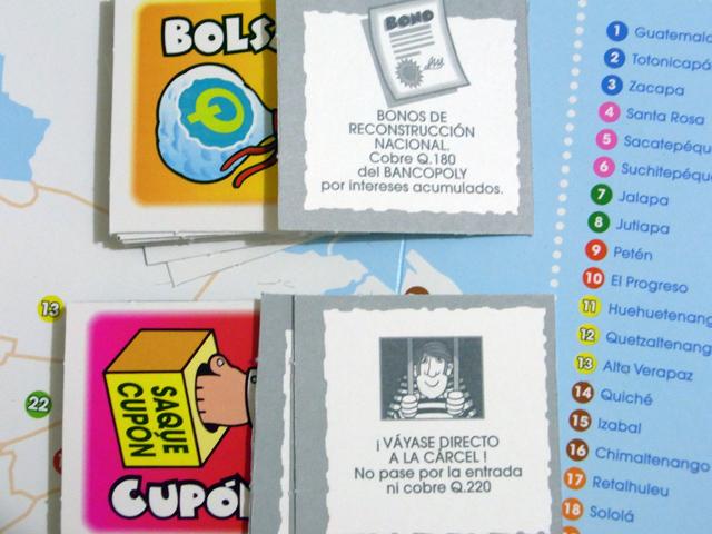BANCOPOLYのイベントカード