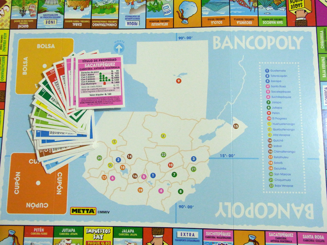 BANCOPOLYのボード