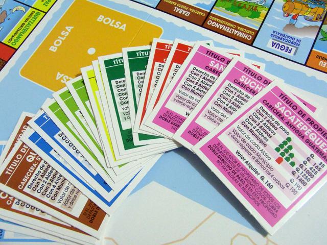Bancopolyの土地カード