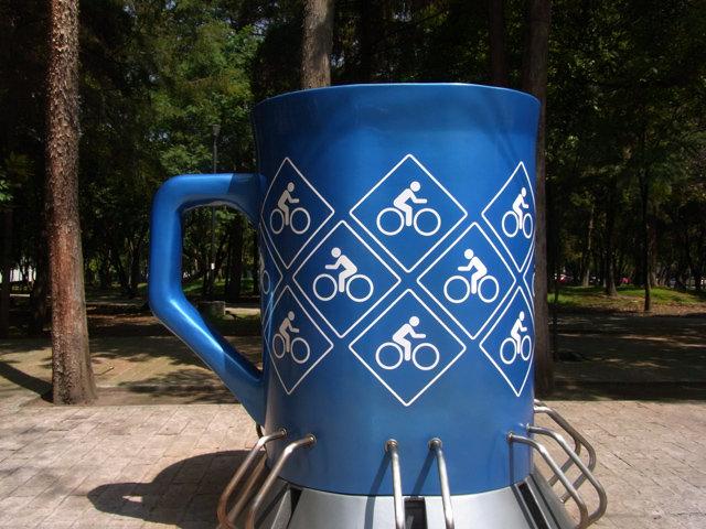 メキシコ人アーティストがデザインしたコーヒーカップ1