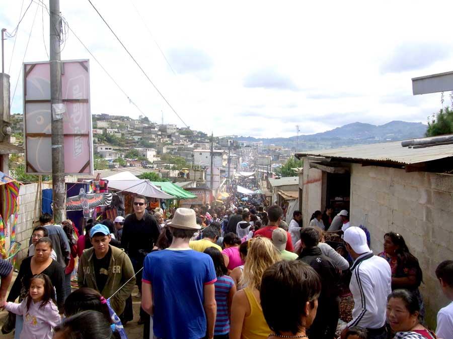 グアテマラの死者の日の様子