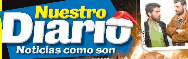 グアテマラの新聞nuestro diario