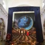 ホコテナンゴの教会内の様子