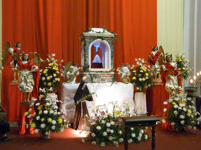 サン・フランシスコ教会のサグラリオ