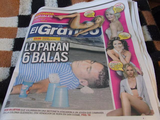 メキシコの新聞el grafico