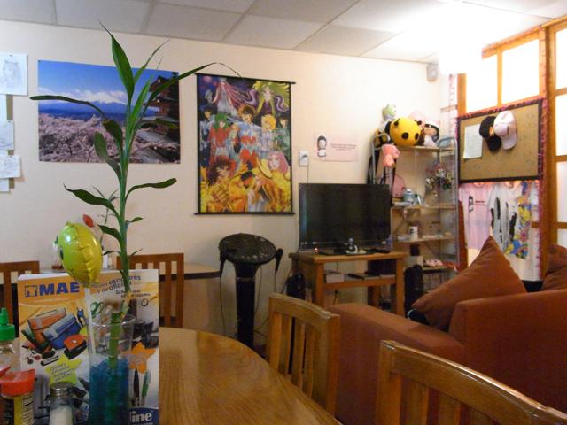 メキシコのメイドカフェの店内の様子