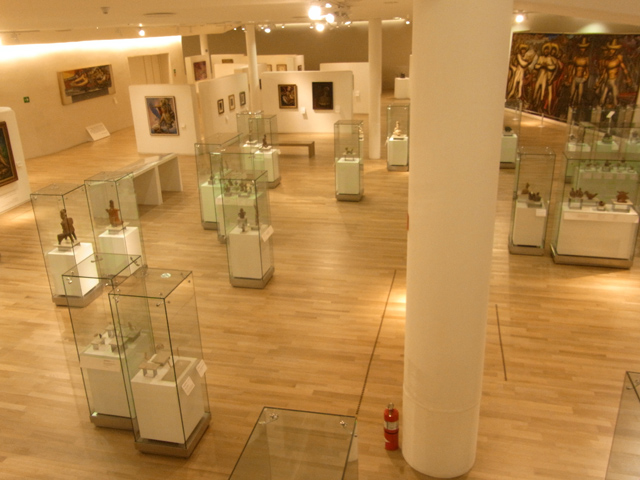 ソウマヤ美術館の中の様子