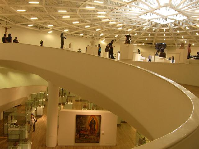 ソウマヤ美術館の中
