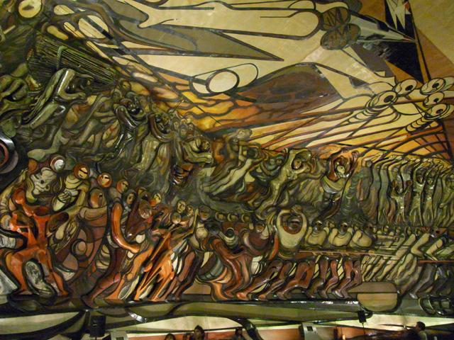 ポリフォルム・シケイロスにあるシケイロスの壁画