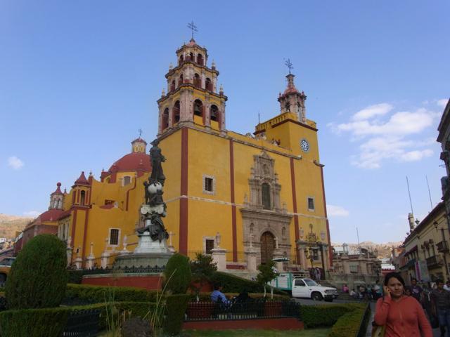 グアナファトにある教会