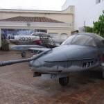ボゴタの軍事博物館にあった戦闘機