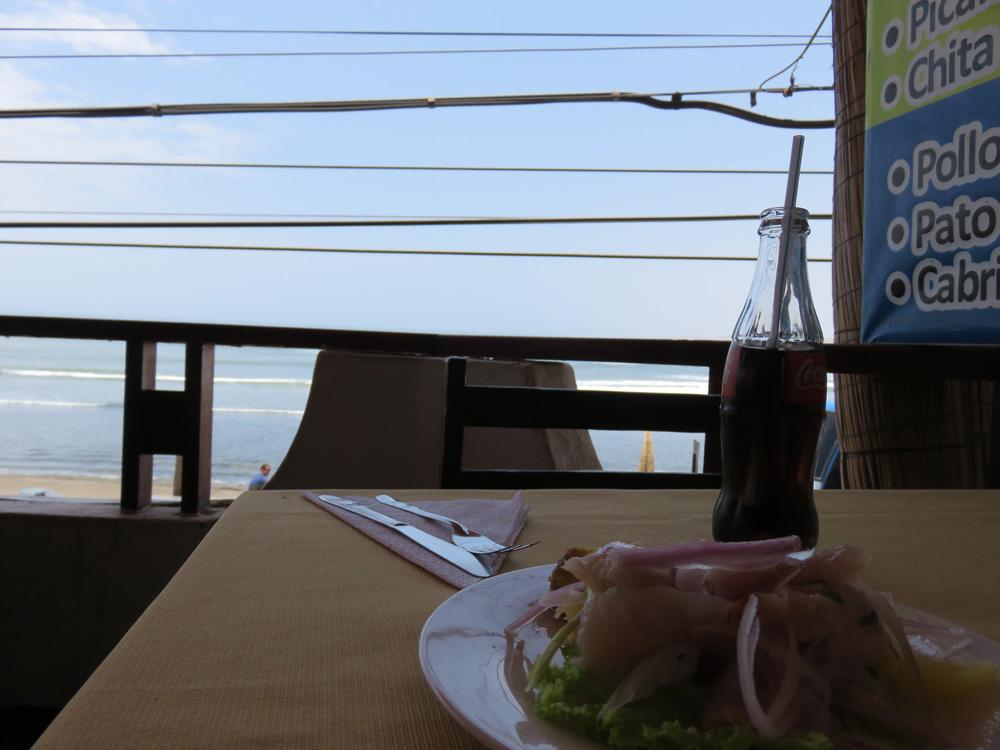 ワンチャコで食べたセビーチェ