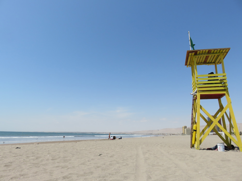 アリカのビーチ