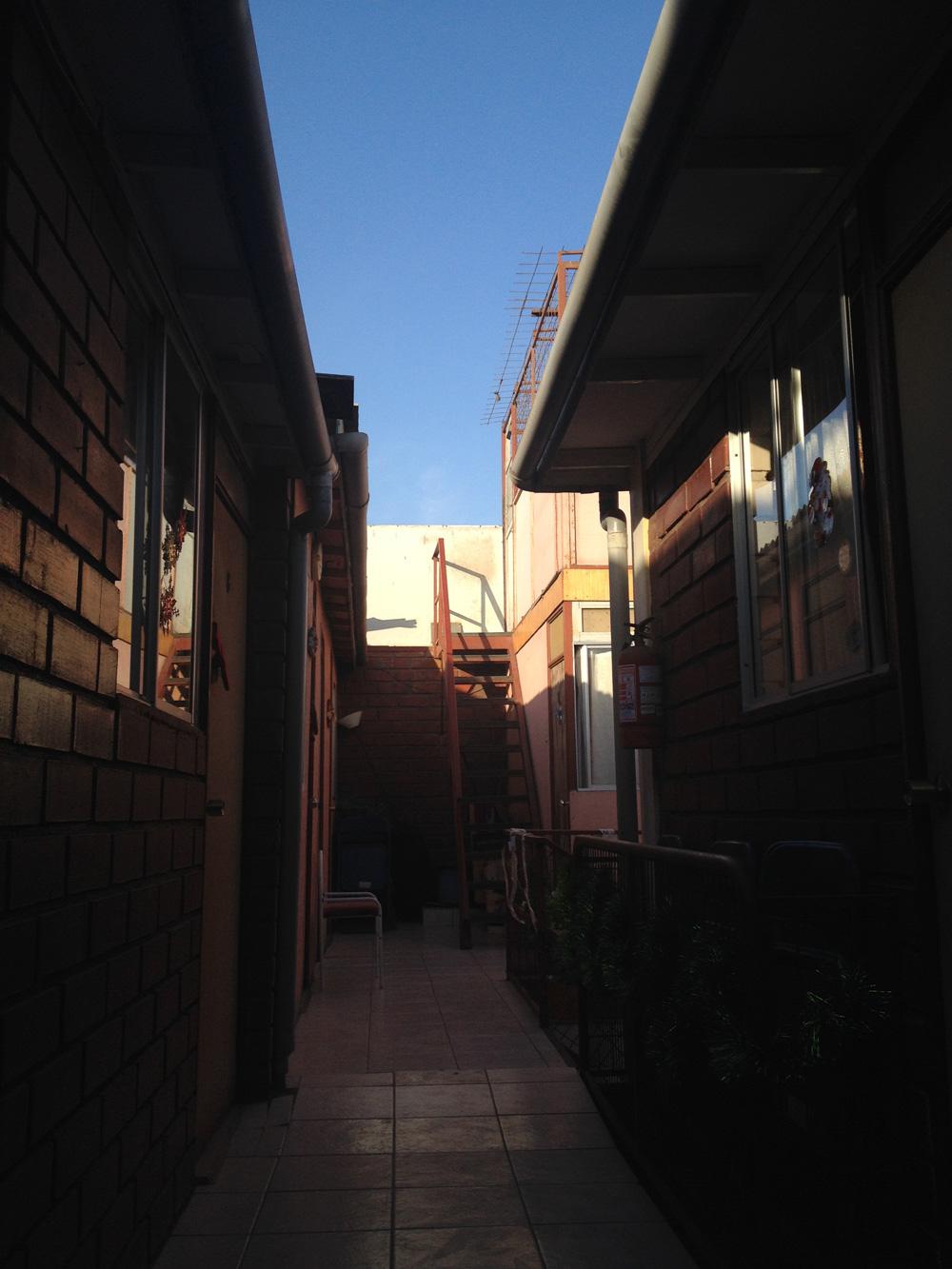 アリカの宿Residencial Tres Soles2階
