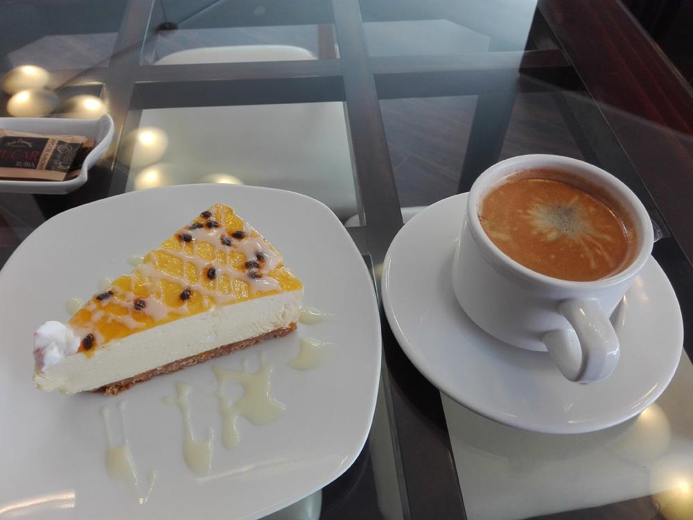 アレキパのカフェMoccaのコーヒー