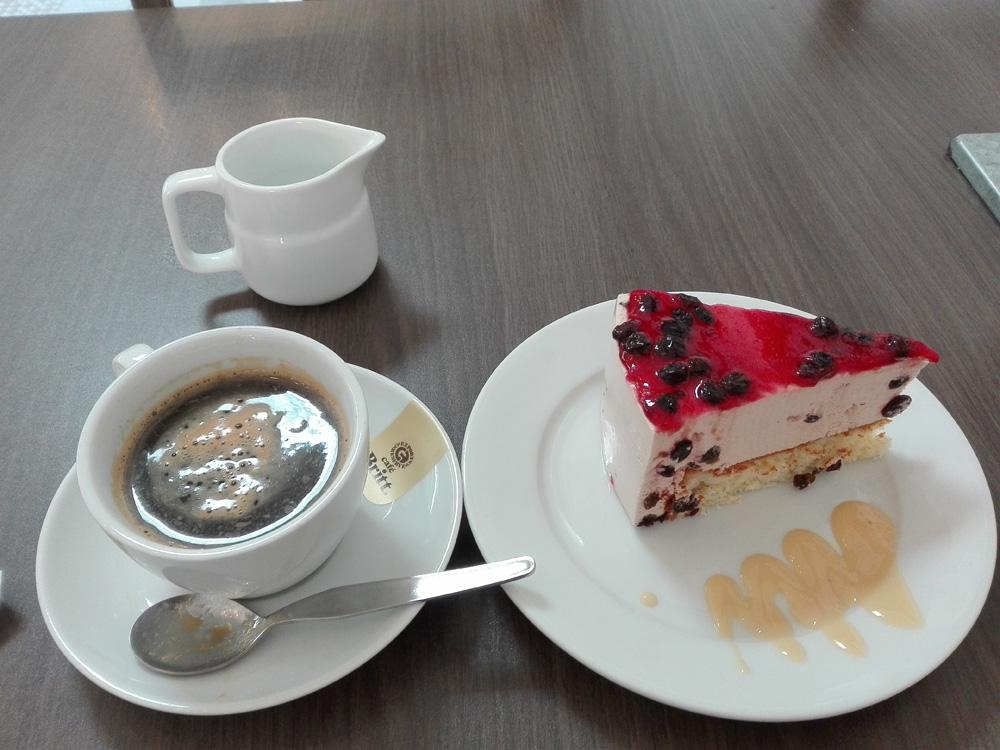 アレキパのカフェLa Capricciosaのコーヒー