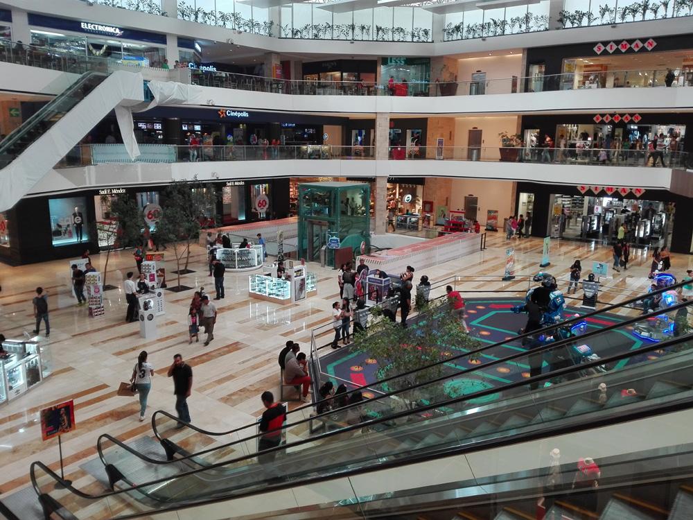 グアテマラシティのショッピングモール